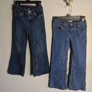 Other - 2 pairs of girls jeans size 4 bundle